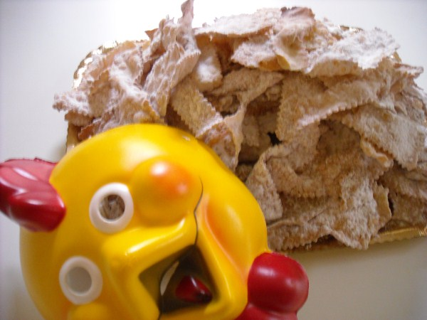 Chiacchiere fritte di Carnevale ricetta