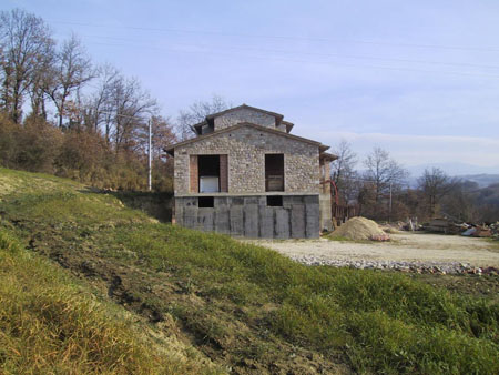 Casa campagna effetto pietra