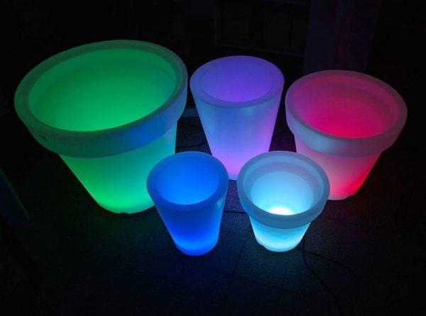 Vasi luminosi a led - Ikea lampade esterno ...