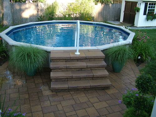 piscina per terrazzo. Black Bedroom Furniture Sets. Home Design Ideas