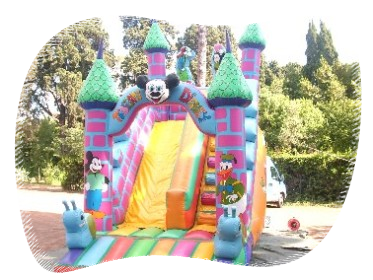 Feste giardino noleggio castelli