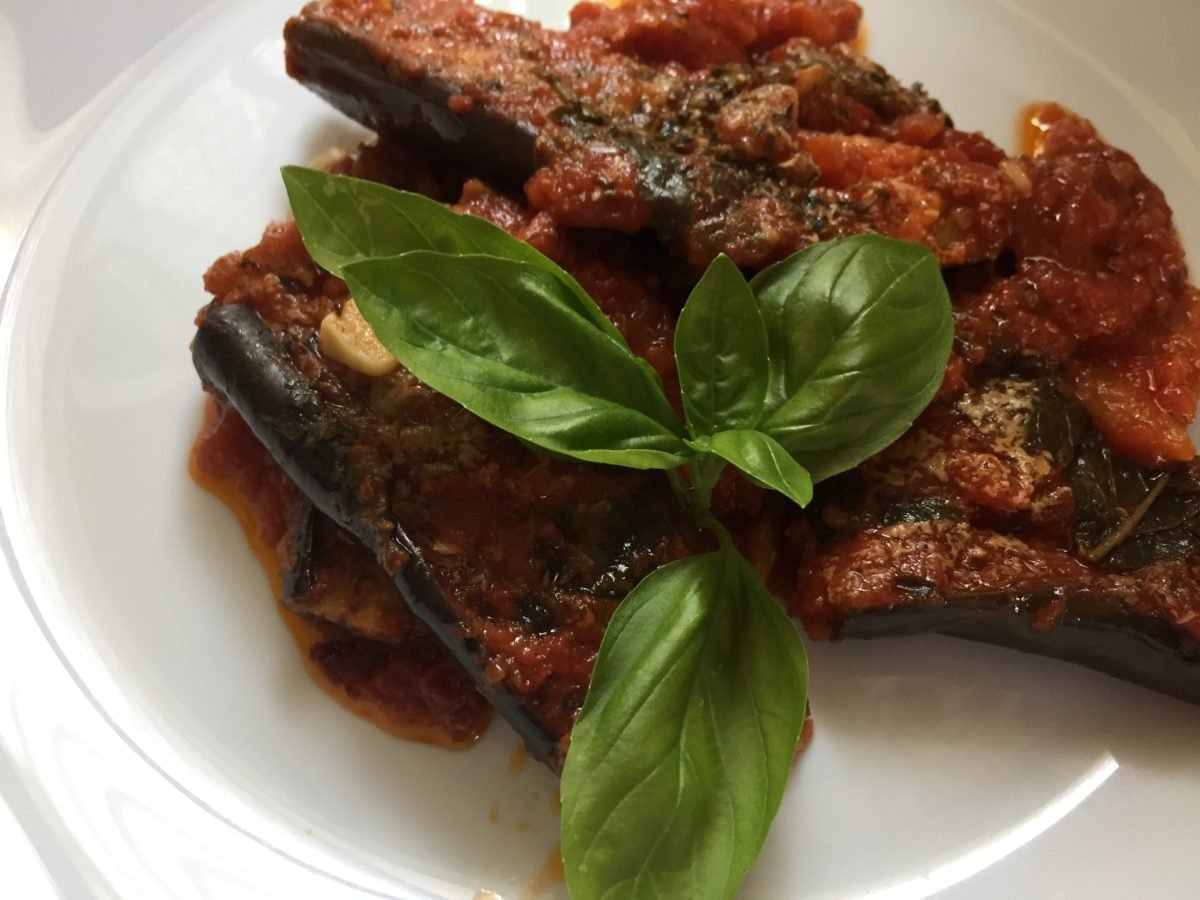 melanzane spaccate- ricetta