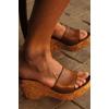 Sandali di sughero pulizia