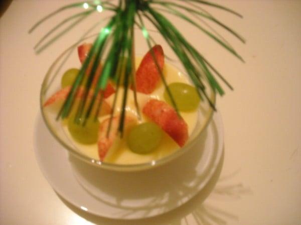 Dessert di Ferragosto alla frutta