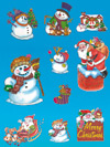 vetrofanie natalizie-decori