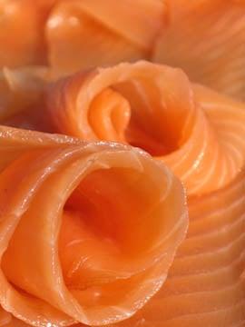 Linguine al salmone affumicato