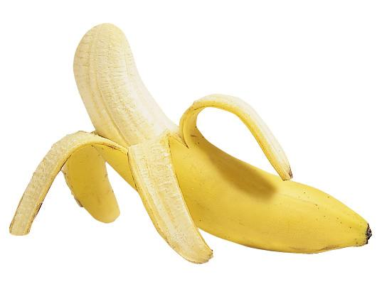 Maschera alla banana per capelli soffici