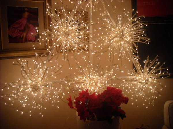 Albero di Natale bianco fai da te