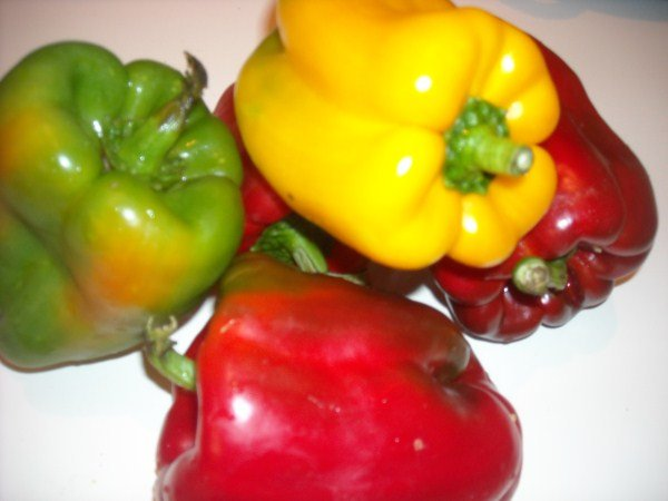 peperoni grigliati cipolla rossa