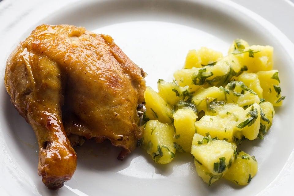 Polletti-patate-timo