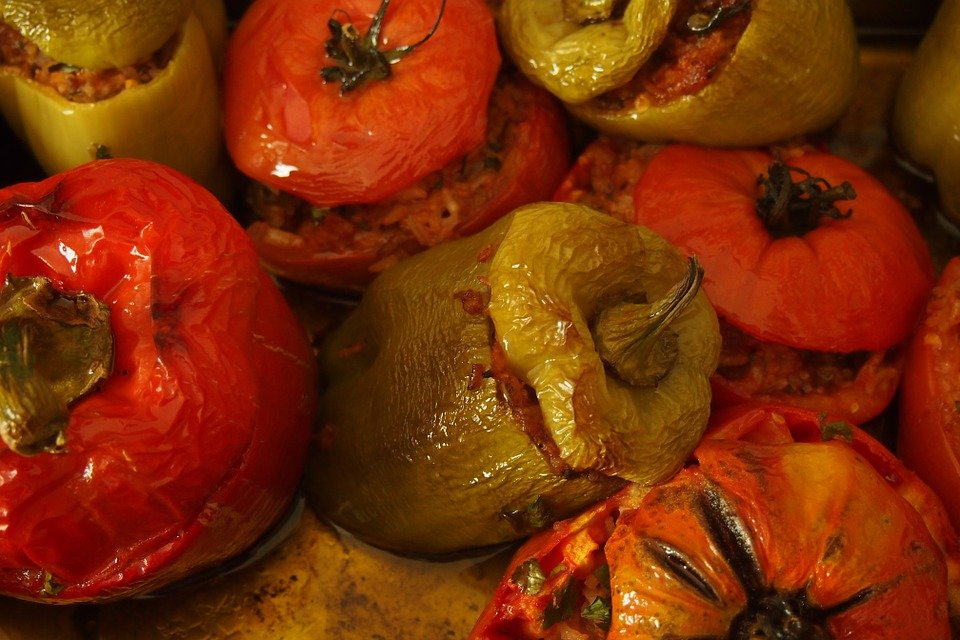 Pomodori-ripieni-cottura