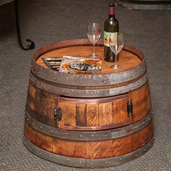 botte tagliata tavolino wine bar