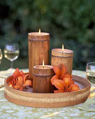 candele-in-bambu