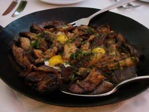 Cosciotti di pollo con verdure