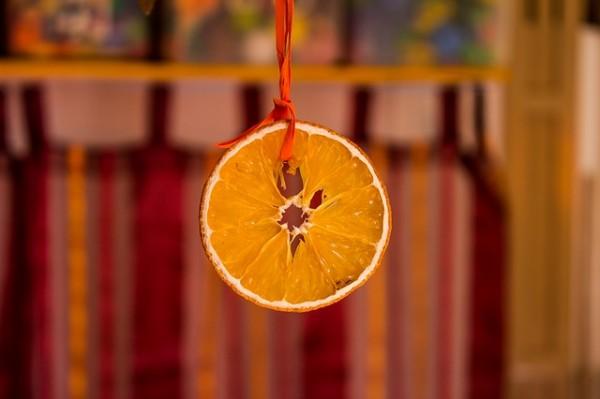 autunno tavola arancia