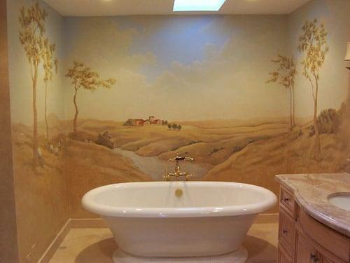 Come tinteggiare il bagno