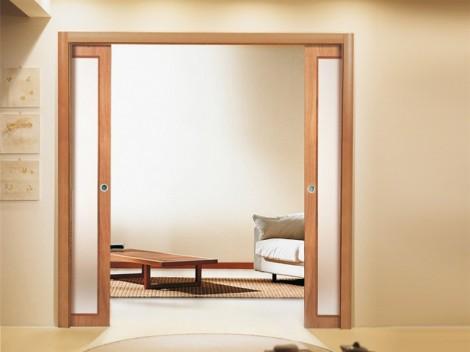 Porte scorrevoli scrigno per decorare la casa - Porte per la casa ...