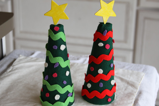 Alberi di Natale in Feltro