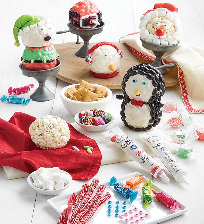 decorazioni-natalizie-popcorn-pupazzi
