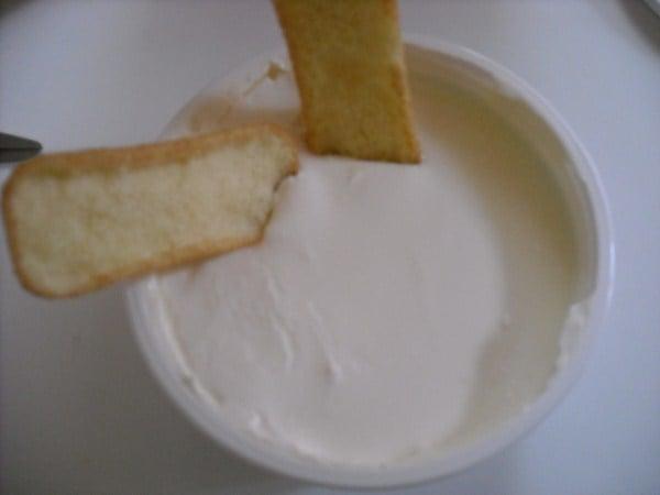 Cheesecake americano con panna acida