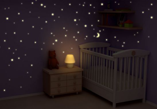 cameretta bambini stelle
