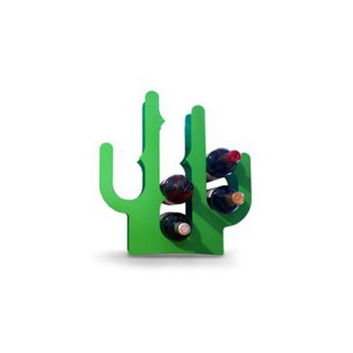 Portabottiglie a forma di cactus