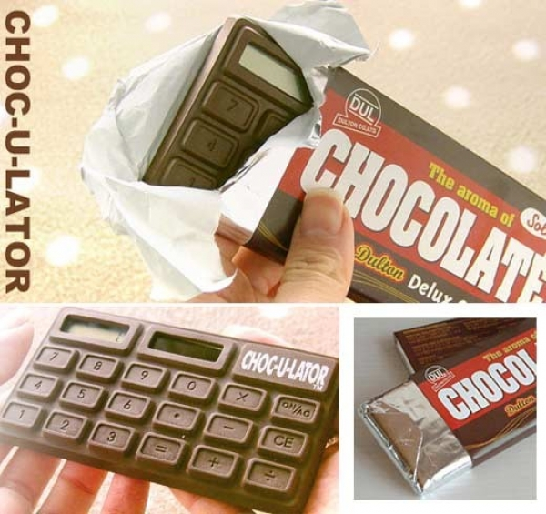 Calcolatrice cioccolato - Choc-u-lator