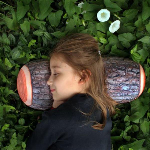 Cuscino a forma di tronco