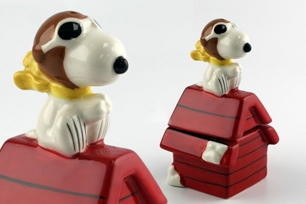 Dispenser sale e pepe Snoopy