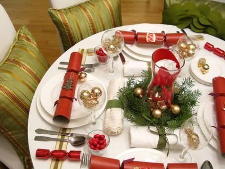 segnaposto natalizio con tovagliolo