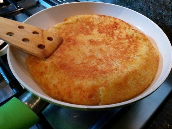 Gateau di patate dietetico in padella