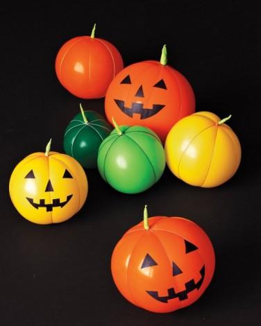 Zucca Halloween Cartapesta.Zucche Di Halloween Con Palloncini
