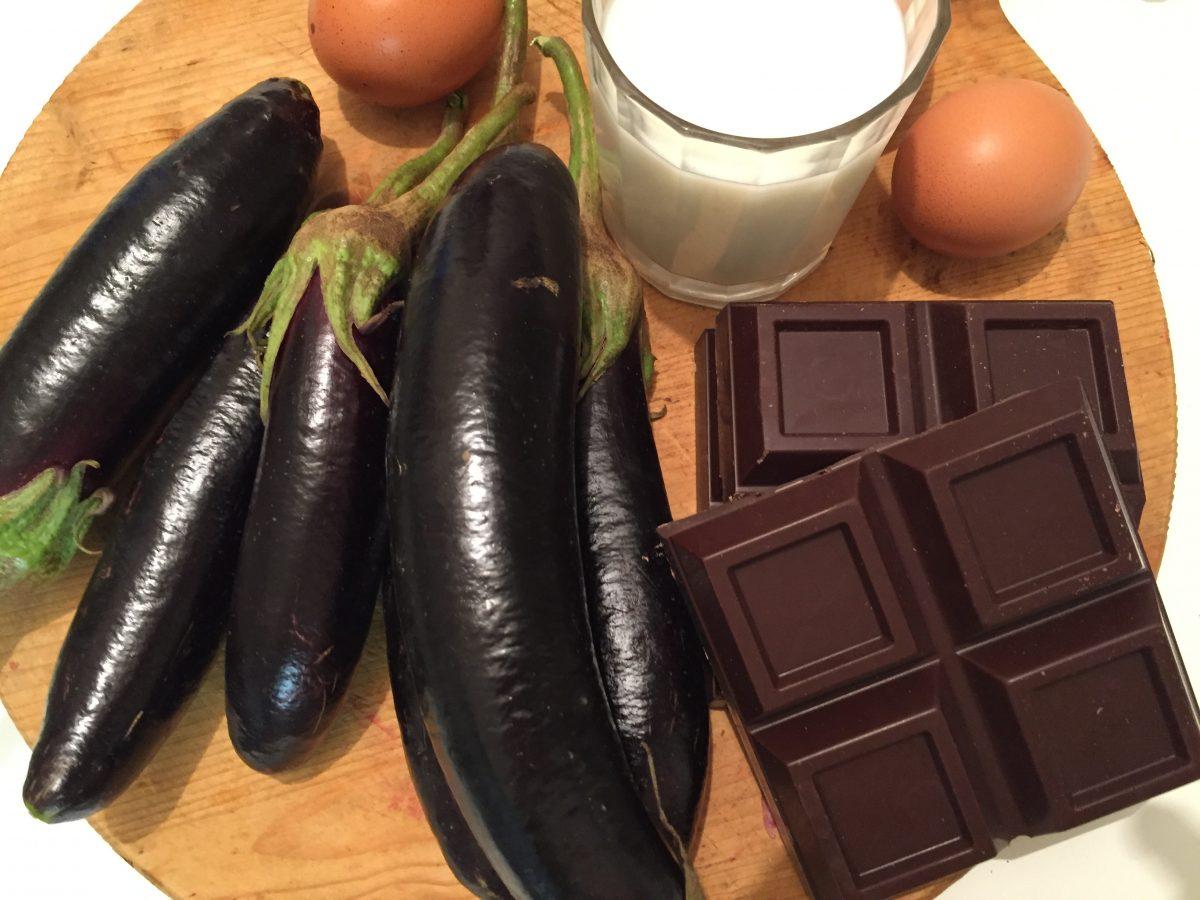melanzane al cioccolato-ingredienti