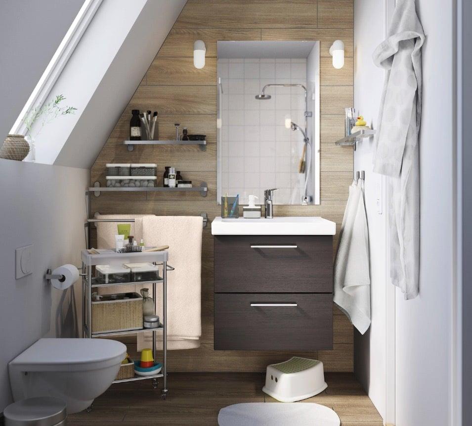 Ikea Mobili Bagno Pensili bagni ikea 2020: soluzioni d'arredo, esempi e foto