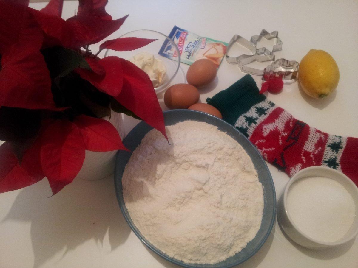 Calza befana con nutella-ingredienti