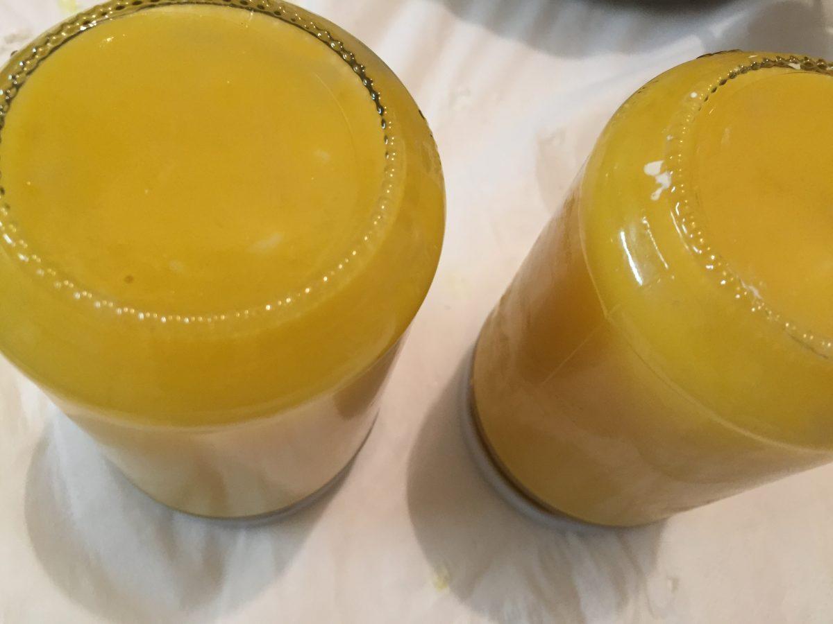 lemon curd-conservazione