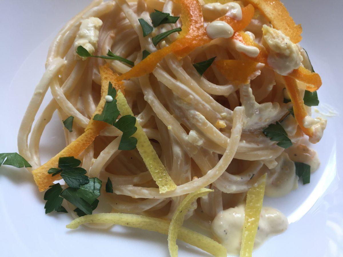 Spaghetti-agrumi