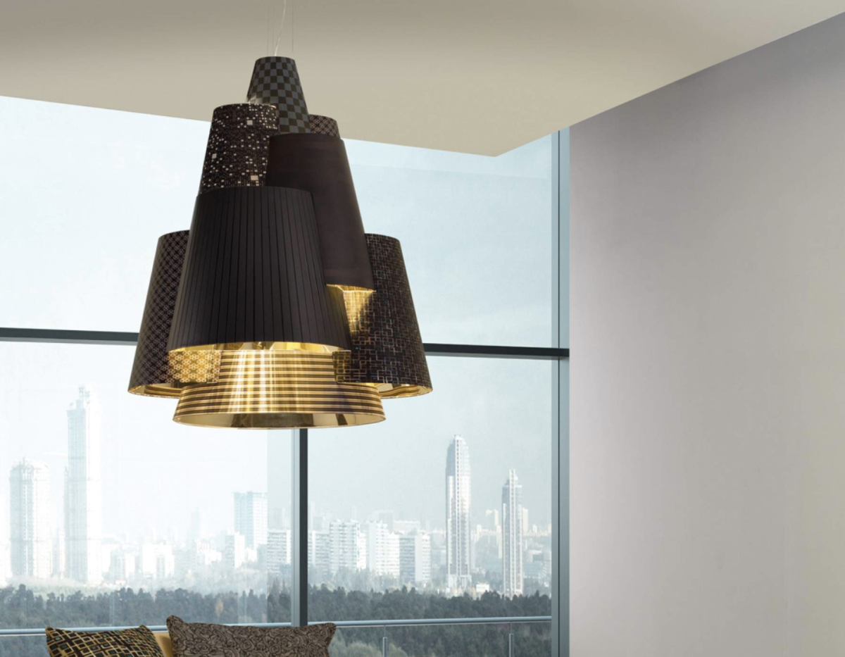 Lampadari di design moderno for Lampadari d arredo