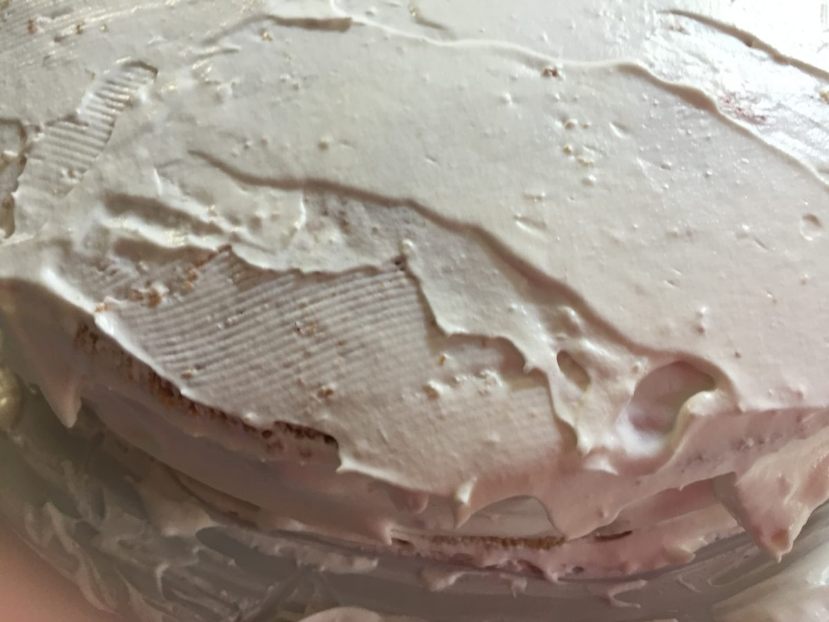 Torta-panna-fragole