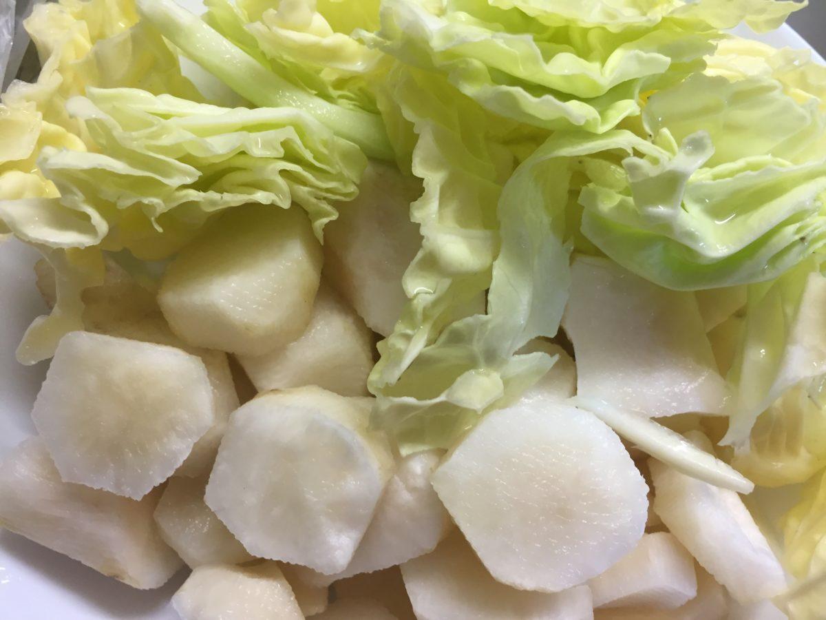 Verza-topinambur-ingredienti