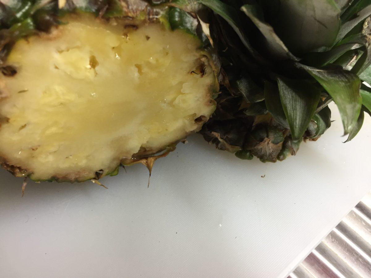 Ananas-pulizia