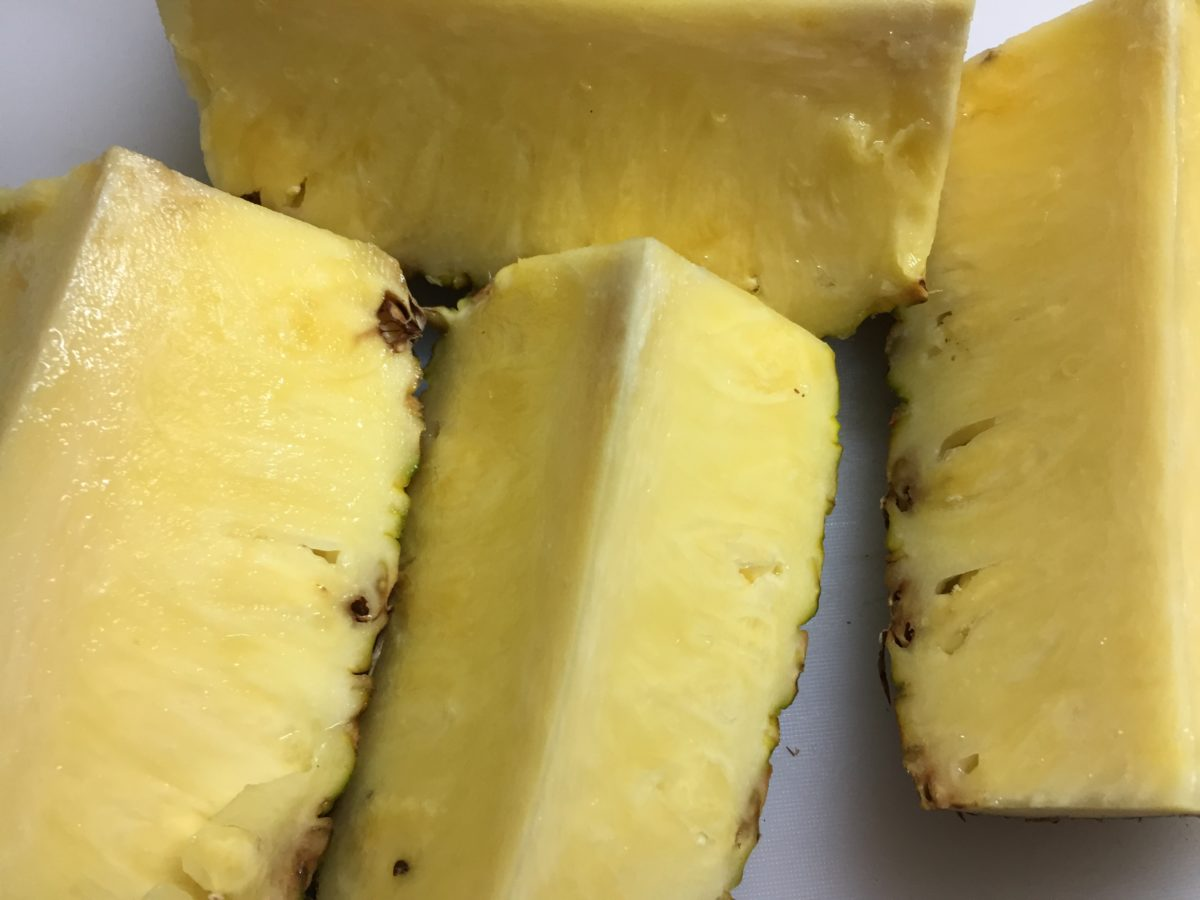 Ananas-spicchi