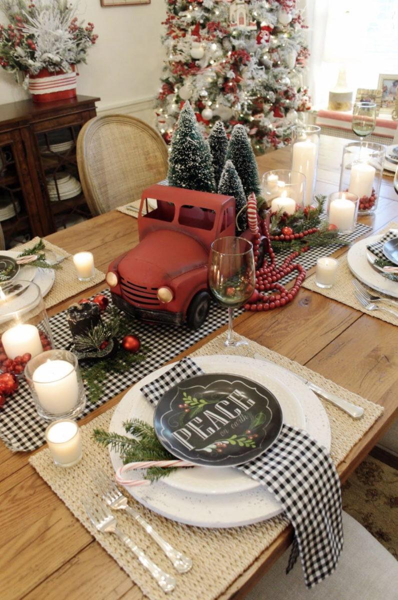 Arredare Tavola Natale apparecchiare la tavola per natale: 30 foto idee e consigli