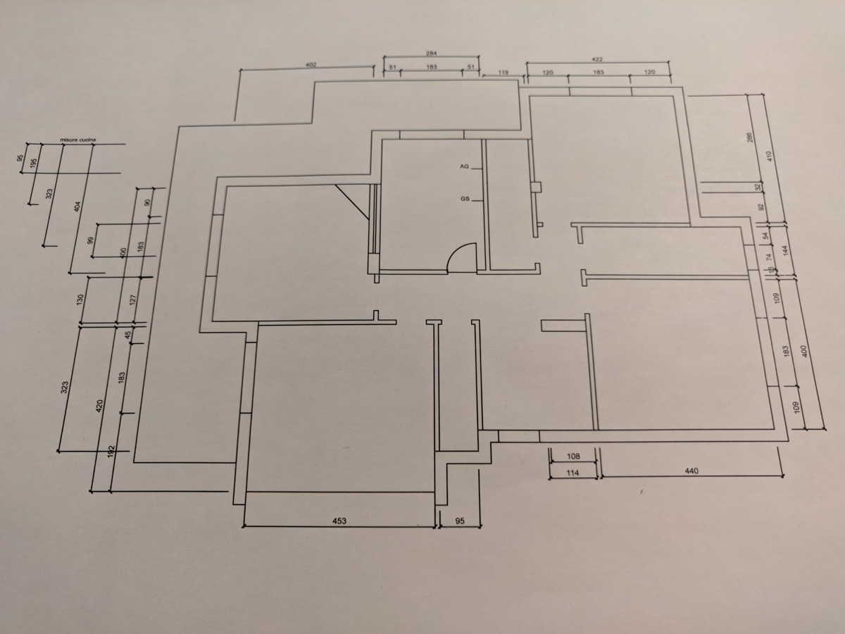 Planimetria Casa Con Misure arredare casa usando la planimetria: guida fai da te