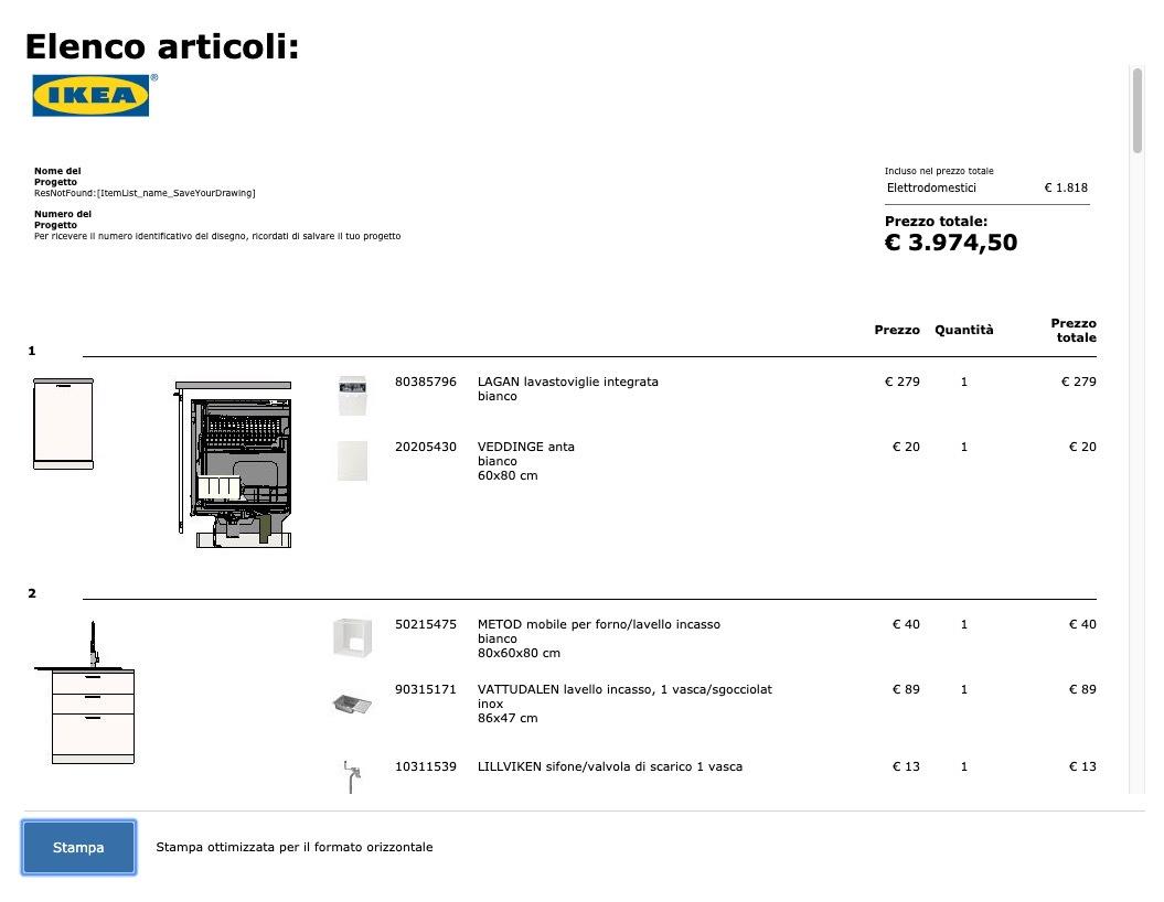 Altezza Cucina Ikea ikea planner: progetta la cucina e risparmia oltre il 50%