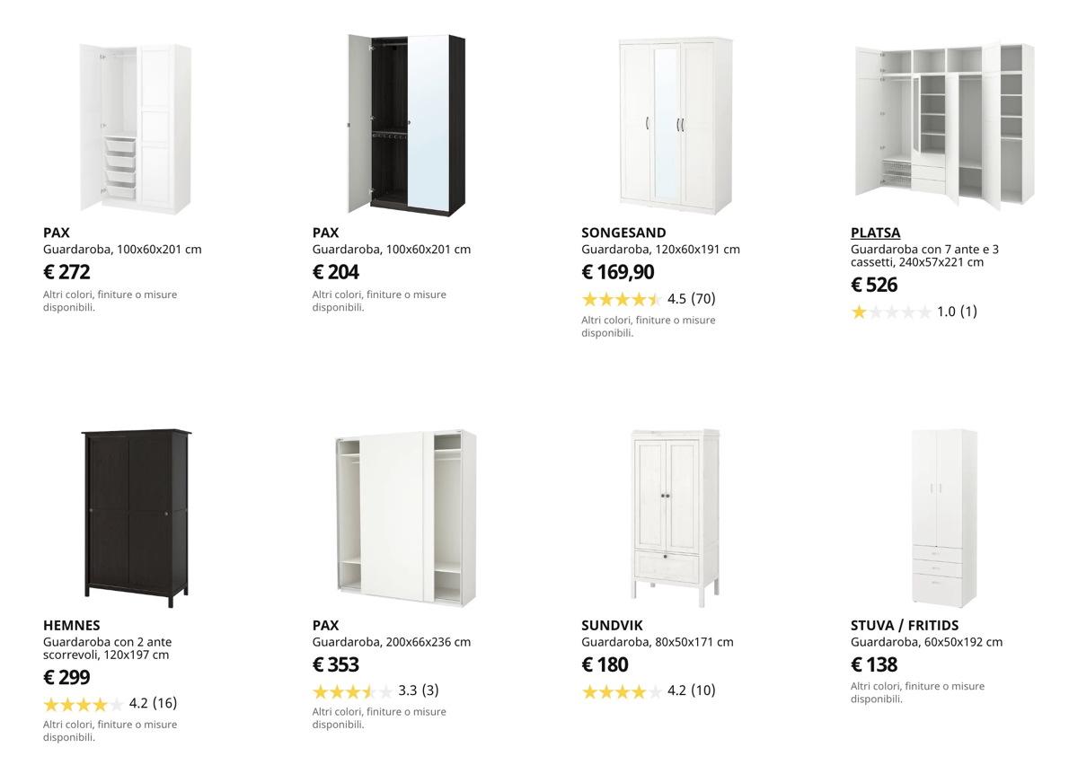 Pax Hemnes Guardaroba Ikea.Ikea Catalogo Guardaroba 2020
