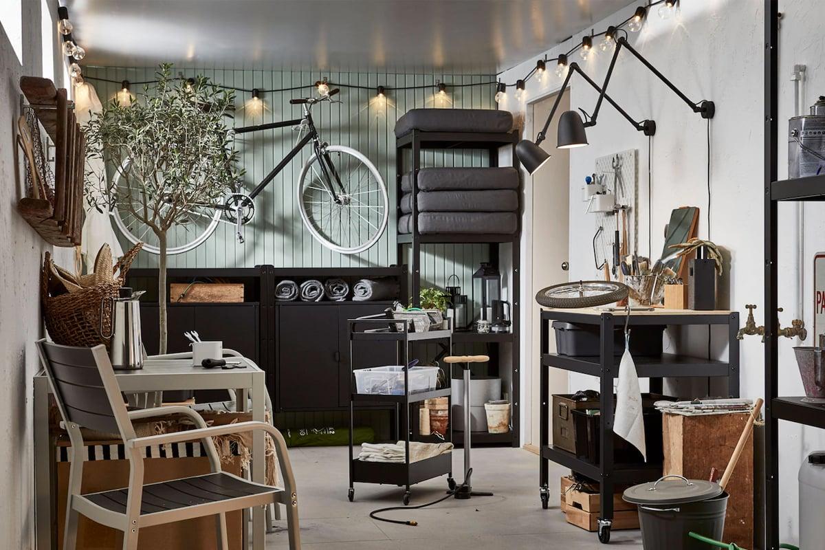 arredare-garage-Ikea