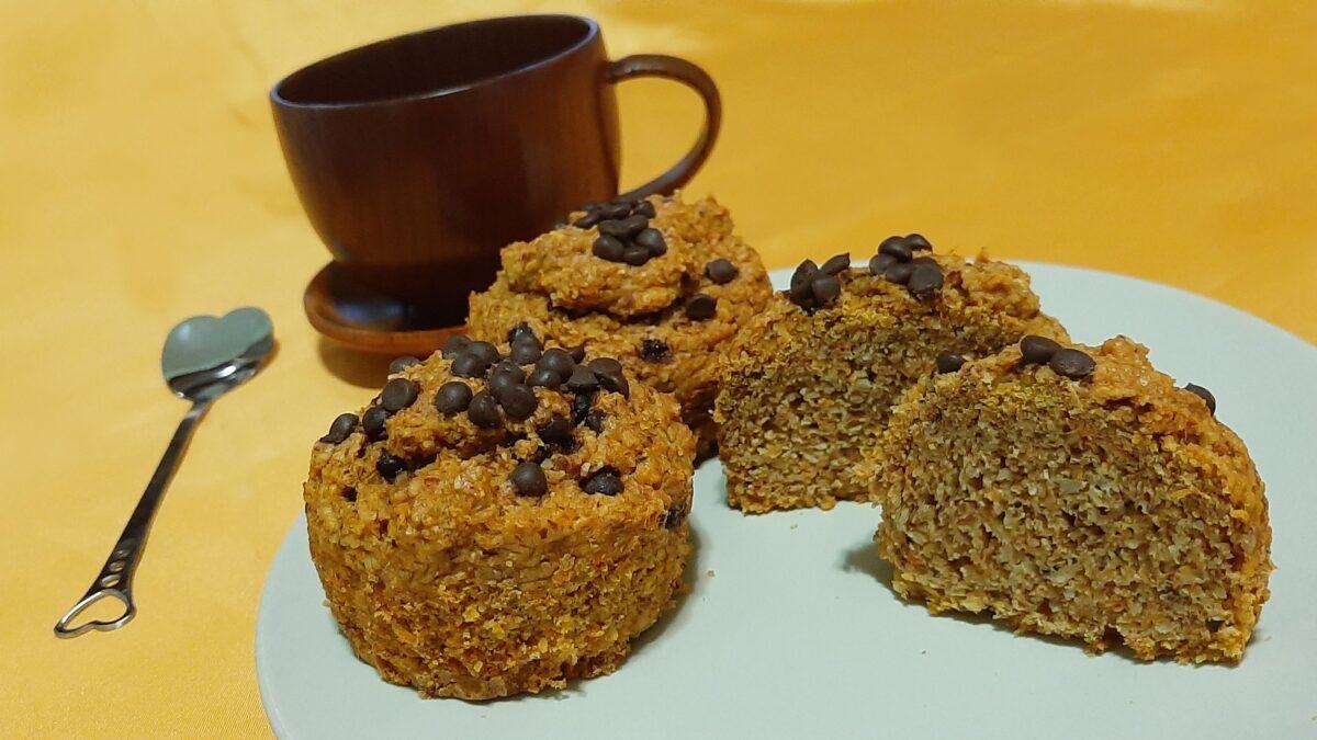 Muffin alla zucca sugar free