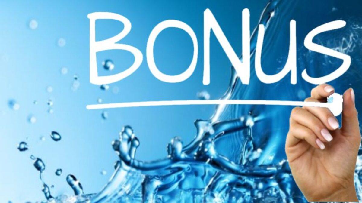 Bonus idrico e bonus depuratori d'acqua