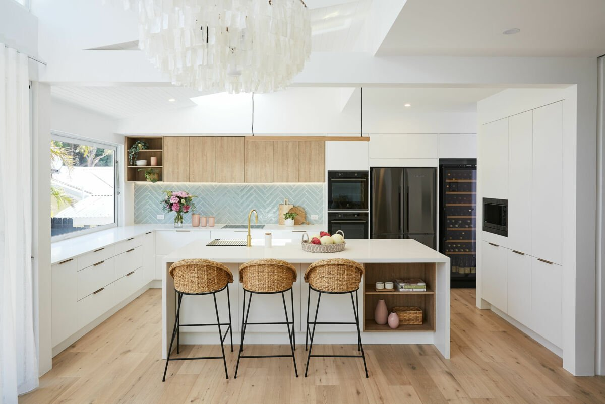 Cucina scandinava bianca: idee